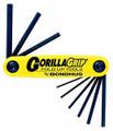 Bondhus 12591 - Set of 9 Hex Fold-up Tools .050-3/16