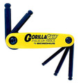 Bondhus 12894 - Set of 5 Ball End Hex Fold-up Tools 3/16-3/8