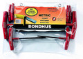 Bondhus 13387 - Set of 8 Graduated Length Hex T-Handles 2-10mm