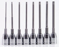 """8 Piece Torx Socket Set - 6"""" Blades Actual product may be different"""