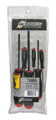 Bondhus 74686 - Set of 6 ProHold Ball End Hex Screwdrivers 1.5-5mm