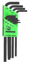 Bondhus 31834 - Set of 8 Star L-keys - Long Arm Style - T9-T40