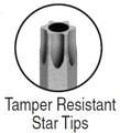 Bondhus Tamper Resistant Star L-keys