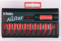 Felo 50797 - AllStar 10 pc Bit Set - Torx T20-T40