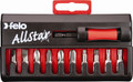 Felo 53015 - AllStar 10 pc Universal Bit Set - Slotted, Phillips, Square, Torx
