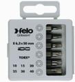 "Felo 31419 - Profi Bit Box 6 Bits x 2"" - Torx"