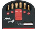 Felo 51389 - Swift Box 6 pc TiN Bits and Magnetholder - T10-T40
