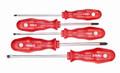 Felo 16052 - 5 pc Slotted & Phillips Screwdriver Set - PPC Handle