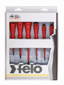 Felo 50176 - 6 pc Slotted & Phillips Insulated Screwdriver Set - 2 Component Handle