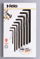 Felo 50975 - 8 Pc Torx L-wrench Set - T6-T25