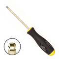 Bondhus GoldGuard Plated Ball End Hex Screwdriver - Inch - Bondhus 38612