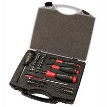 Wiha 28589 - 59 Pc TorqueVario-S Bit Set, in Storage Box