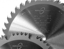 "Large Diameter Saw Blade, 24"" x 80T ATB, Popular T - Popular Tools GA2410080F"