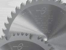 Popular Tools Circle Saw Blades - Popular Tools PP1210