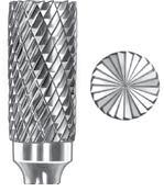 Omega Bur Deep Double Cut Cylinder Shape with End Cut SGS SB-5