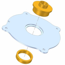 how to use router template guide bushings - magnalock porter cable guide bushing ring incra mlrguide