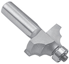 Double Round, Form Router Bit - Carbide Tipped - Southeast Tool - Southeast Tool SE3207A
