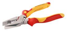 Wiha 32821 - Insulated Lineman's Pliers w/Crimper