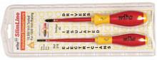 Wiha 32189 - Insulated SlimLine Slotted & Phillips 2 Pc Set