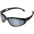 Edge Eyewear Dakura Safety Glasses with Silver Mirror Lens