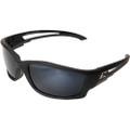Edge Eyewear Kazbek Safety Glasses with Polarized G15 Silver Mirror Lens