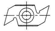 Reversible Insert Spur / Grooving Knife - Southeast Tool SISG-341660