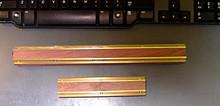 Deulen planer jointer knife fixtures - brass and rosewood - Deulen DEULENDFIX6