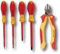 Wiha 32983 5 Piece Insulated Industrial Tool Set