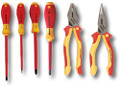 Wiha 32984 6 Piece Insulated Industrial Tool Set