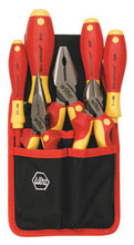 Wiha 32985 7 Piece Insulated Industrial Tool Set
