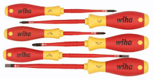 Wiha 6pc Insulated SlimLine Screwdriver Set