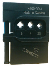 Wiha 43166 - PortaCrimp Die for Tyco Electronics SOLARLOK Connectors