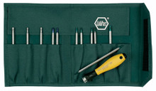 Wiha 26985 12pc System 4 ESD Safe Drive Loc Screwdriver Set