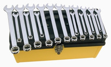 Wiha 40098 18pc Metric Combination Wrench Set, 7-24mm