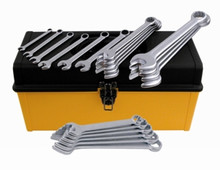 Wiha 40099 26pc Combination Wrench Set, 1/4 to 2""