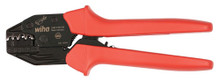 Wiha 43624 Ergonomic Crimping Tool for 22-10 AWG Push-On Terminals