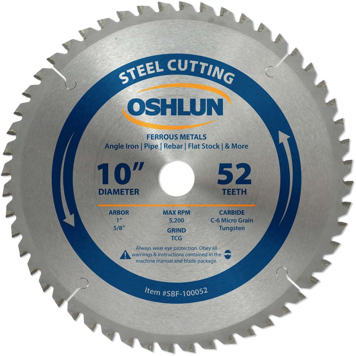 Steel cutting circular saw ferrous metal saw blades greentooth