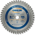 Oshlun SBF-062546 6-1/4-Inch 46 Tooth TCG Saw Blade with 5/8-Inch Arbor for Mild Steel and Ferrous Metals