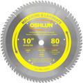 Oshlun SBL-100080 10-Inch 80 Tooth HI-ATB Saw Blade with 5/8-Inch Arbor for Melamine and Laminates