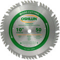 Oshlun SBW-100050 10-Inch 50 Tooth 4 and 1 Combination Saw Blade with 5/8-Inch Arbor