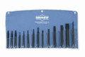 14 Pc Punch & Chisel Set, Mayhew 61044