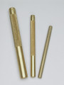 3 Pc Brass Drift Punch Set, Mayhew 61360