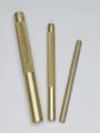 3 Pc Brass Drift Punch Set, Mayhew 61360