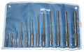 Mayhew 12 Pc Pilot Punch  Set, Pro Line