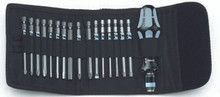 Wera 17 Pc Kraftform Stainless Steel Screwdriver Set - Wera 05071117002