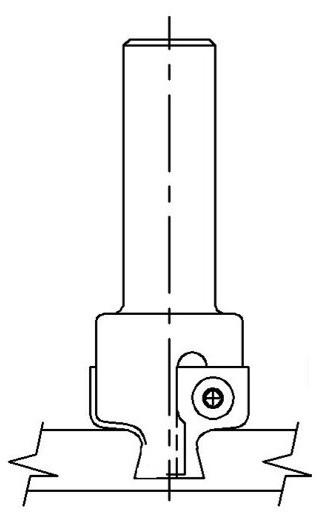 Dovetail Insert, Square, Vortex INS-9282