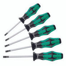 Wera 367/6 Torx Screwdriver Set - Wera 05345220001