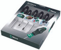 Wera 1334/6 Kraftform Comfort Screwdriver Set