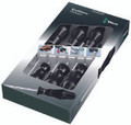 Wera 1734/6 Kraftform Classic Screwdriver Set