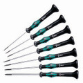 Wera 2054/7 Kraftform Micro Hex Screwdriver Set
